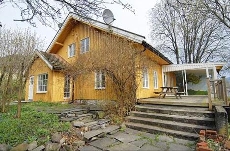 200 år gammelt hus renovert