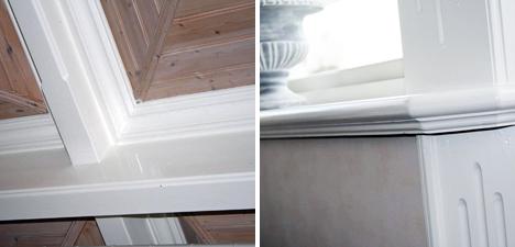 Detaljer tak/vindu
