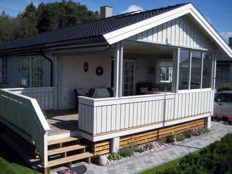 Ferdig terrasse