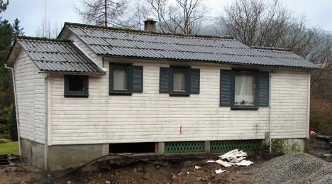 Gammel hytte