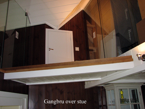 Gangbro over stue