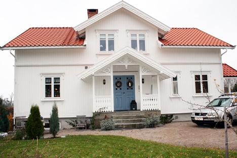 Sveitserhus inngangsparti