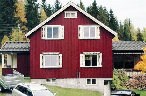 Huset ved overtagelse med to lave tilbygg