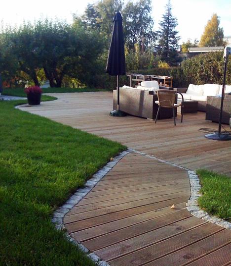 Bergene holm blogg » med catwalk i hagen