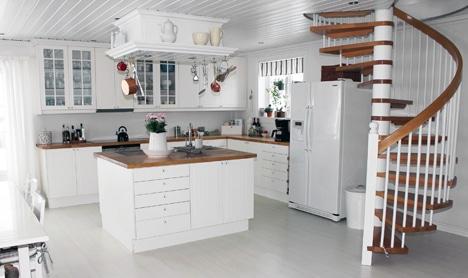 Bergene holm blogg » kjøkken med øy