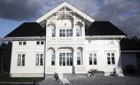 Bygge nytt sveitserhus