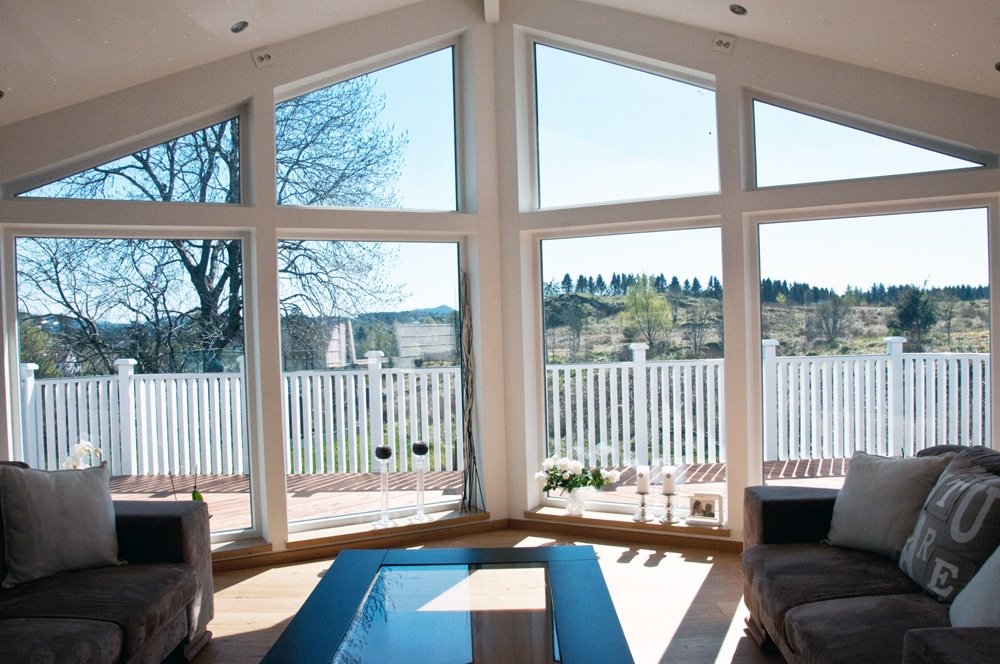 Store vinduer stuen