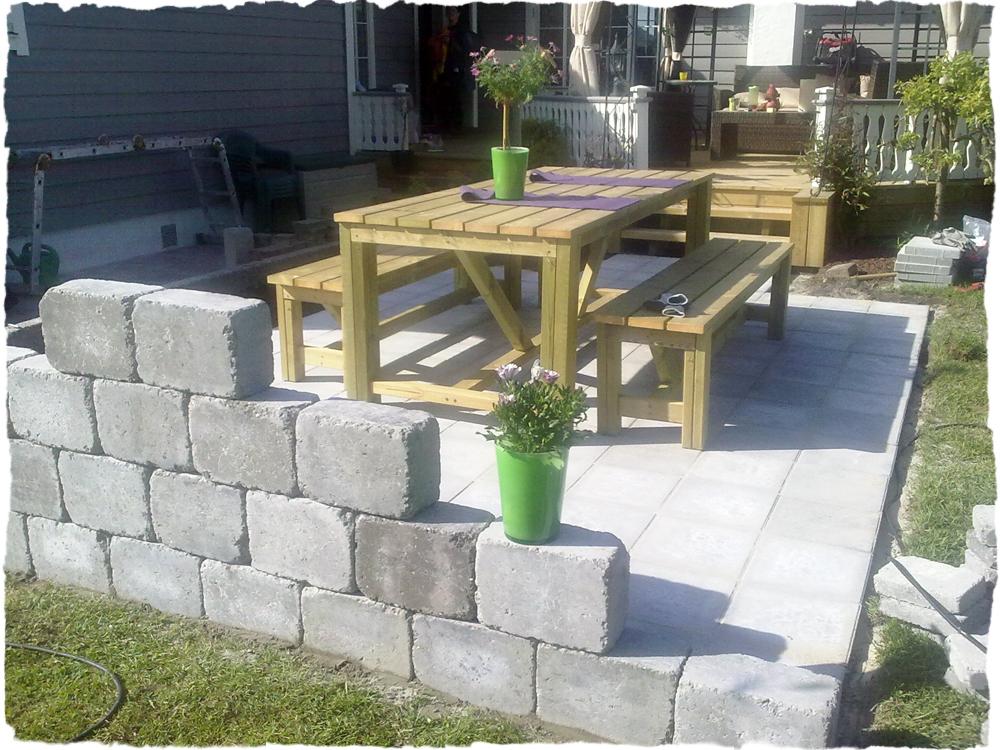Bergene holm blogg » heller og tremøbler i hagen