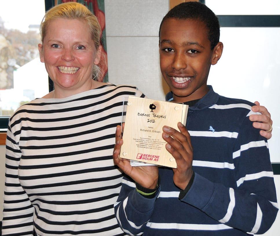 Vinner av Barnas Trepris 2012