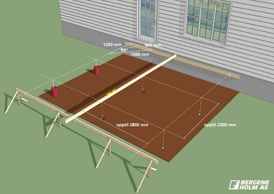 Slik bygger du terrasse