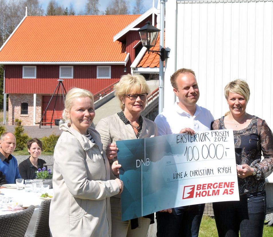 Vinnere av Eksteriørprisen 2012