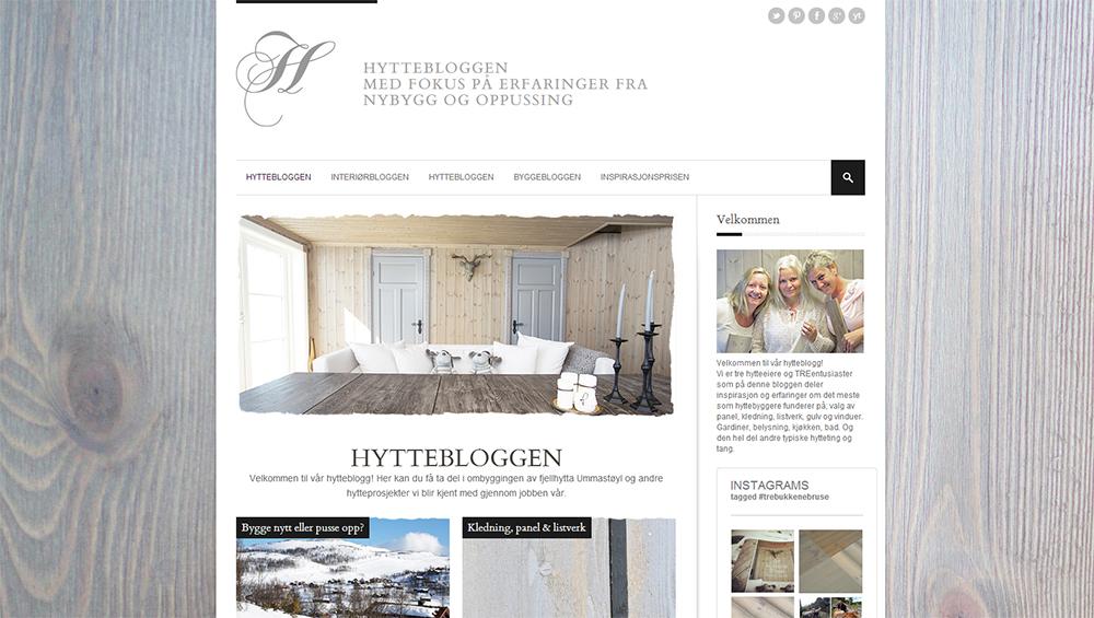 Besøk Hyttebloggen vår på http://hytteblogg.bergeneholm.no. Hyttebloggen har fokus på erfaringer fra nybygg og oppussing av hytte