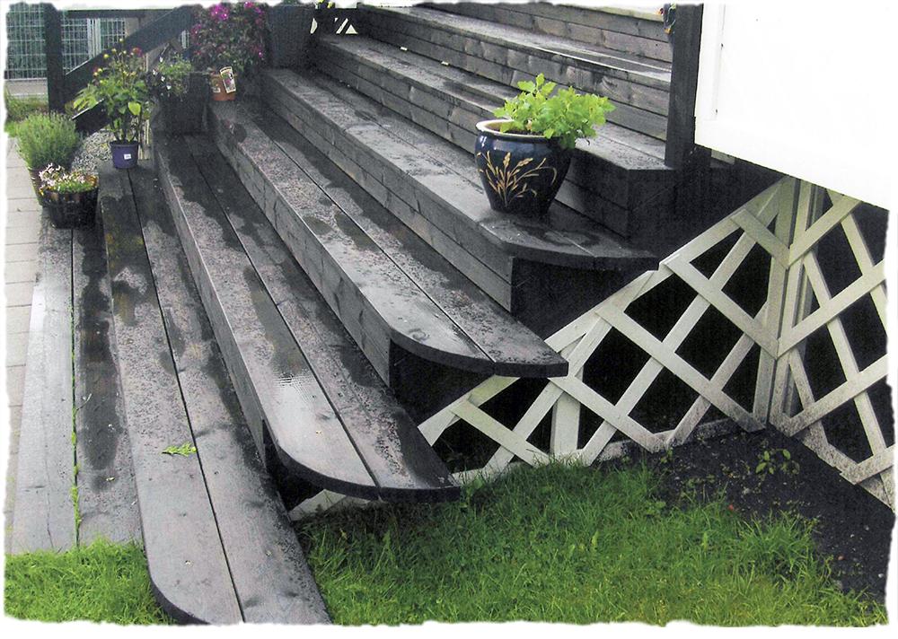 bergene holm blogg bred verandatrapp. Black Bedroom Furniture Sets. Home Design Ideas