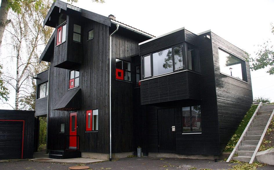 Ny fasade