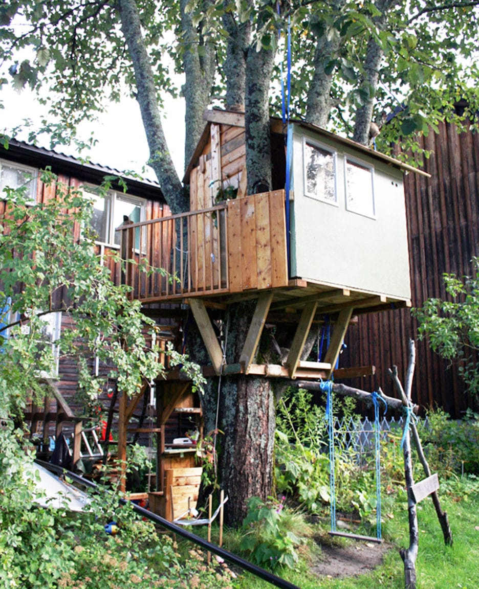 Ferdig hytte