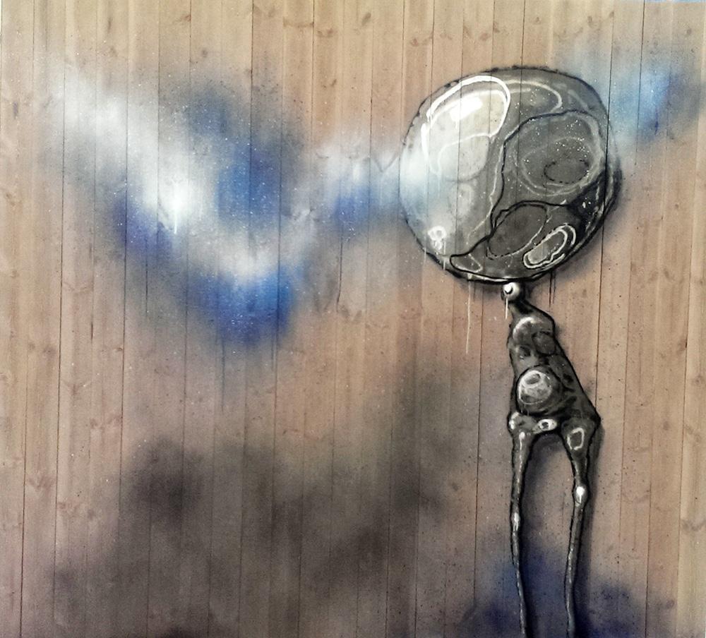 Abstrakt graffitikunst