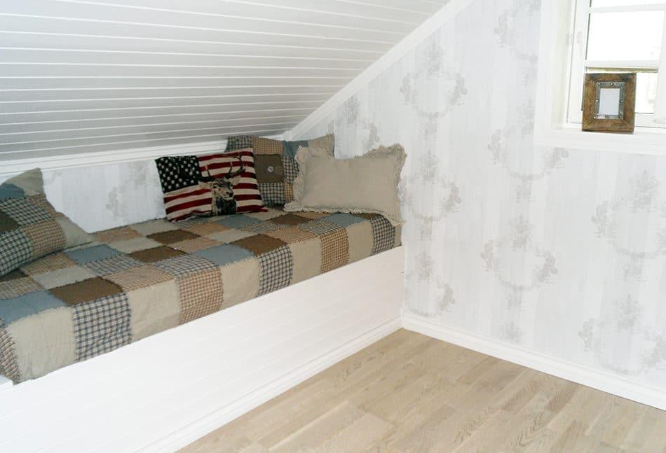 Sofa og ekstra sengeplass