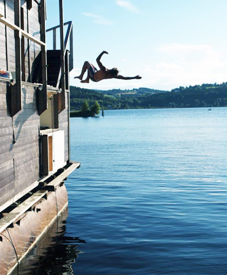Bader fra båten