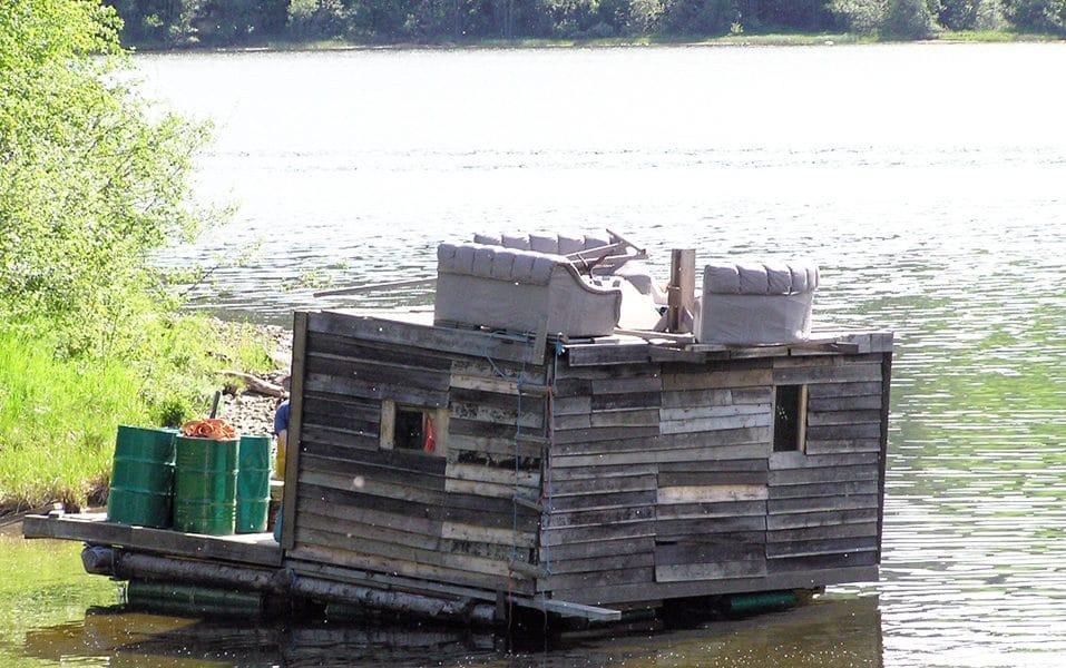 Den første båten