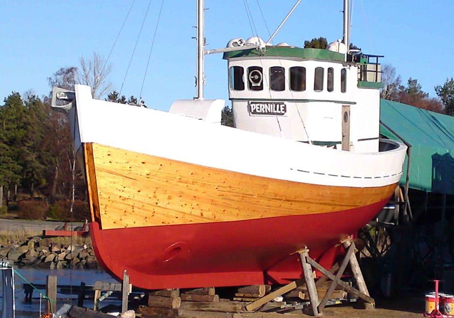 Ferdig feriebåt