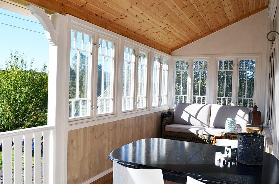 Møbler veranda
