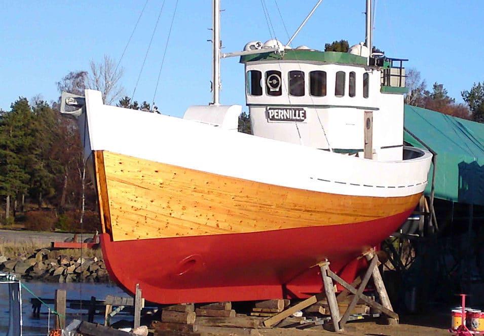 Hytte i båt