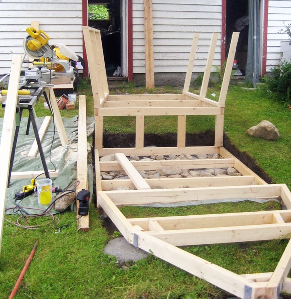 Bygger sjørøverskute