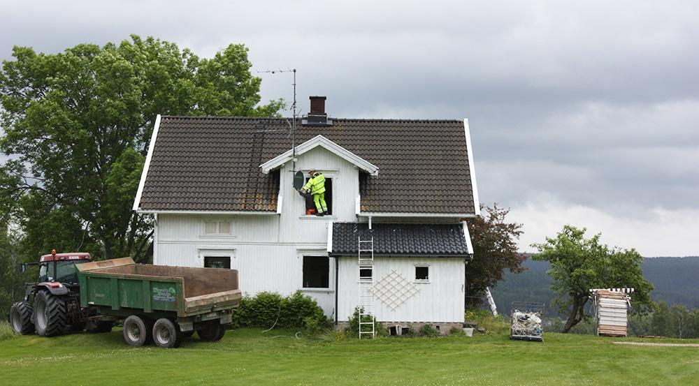 Gammelt hus
