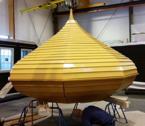 Gul kuppel