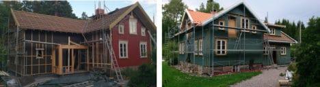 Påbygg og maling