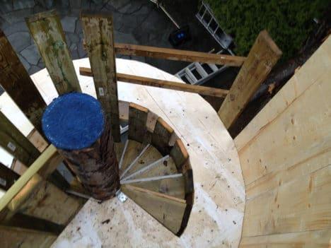 tårnplattform med trapp_1000