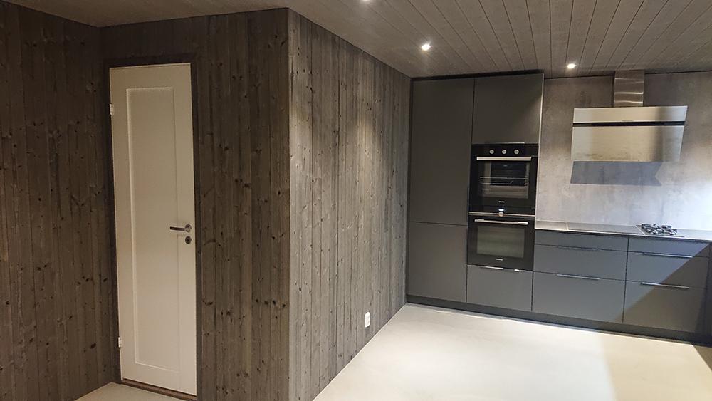 Bilde av kjøkken i naust - interiørprisfinalist nummer 2