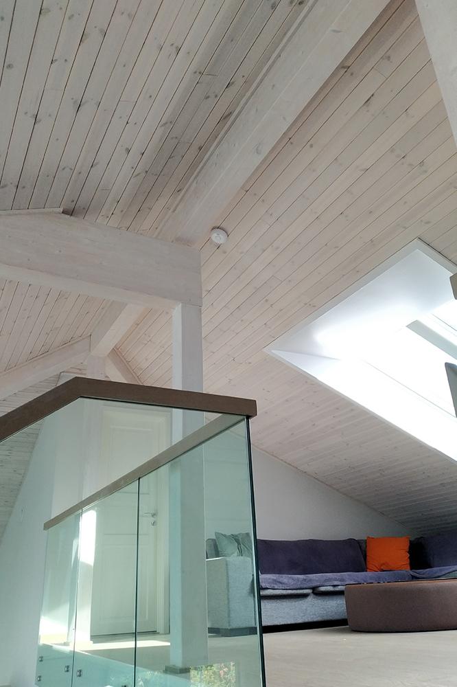 Bilde av loftsstue og tak - Interiørprisfinalist nummer 3