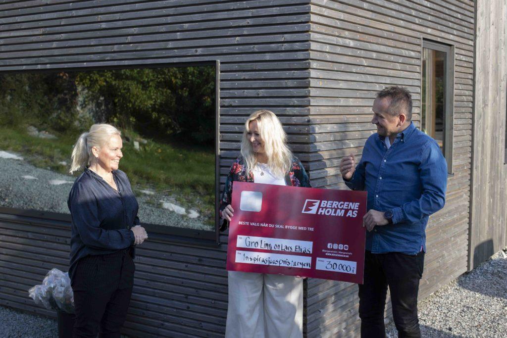 Bilde av vinnere av Eksteriørprisen 2020