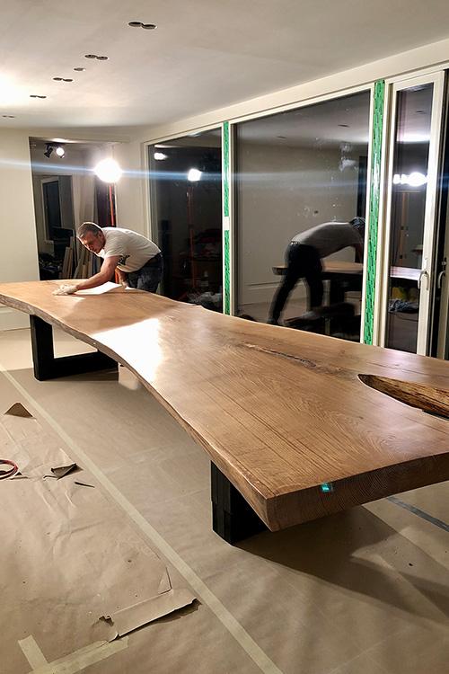 Bilde av ferdigstilling av bord - Åpen Klasse finalist nummer 3