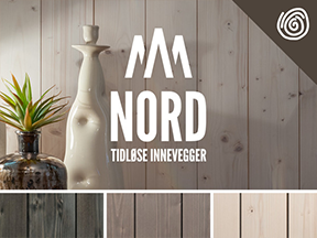 Bilde av NORD - Tidløse Innevegger Interiørkolleksjon med lenke til vår produktoversikt