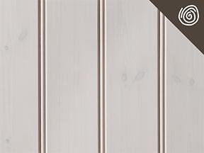 Bilde av Hvitlasert furupanel med lenke til produktside