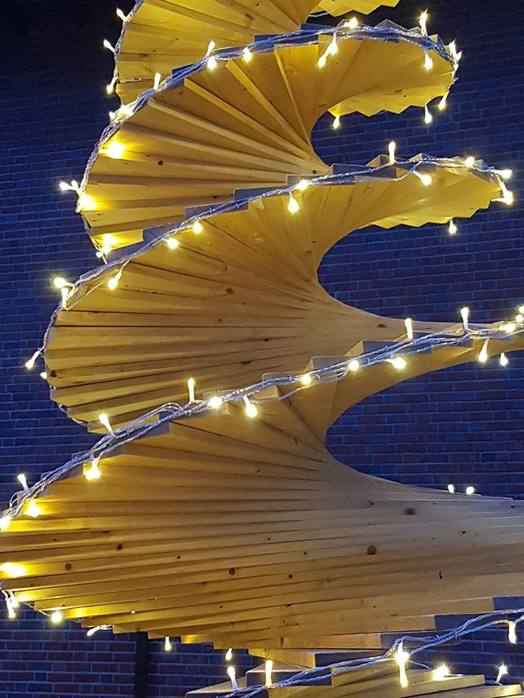 Bilde av juletre - Åpen Klasse Finalist nummer 7 - nærbilde