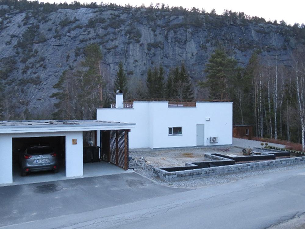Bilde av utgangspunkt før byggestart finalist nummer 6. Uteromsprisen 2021.