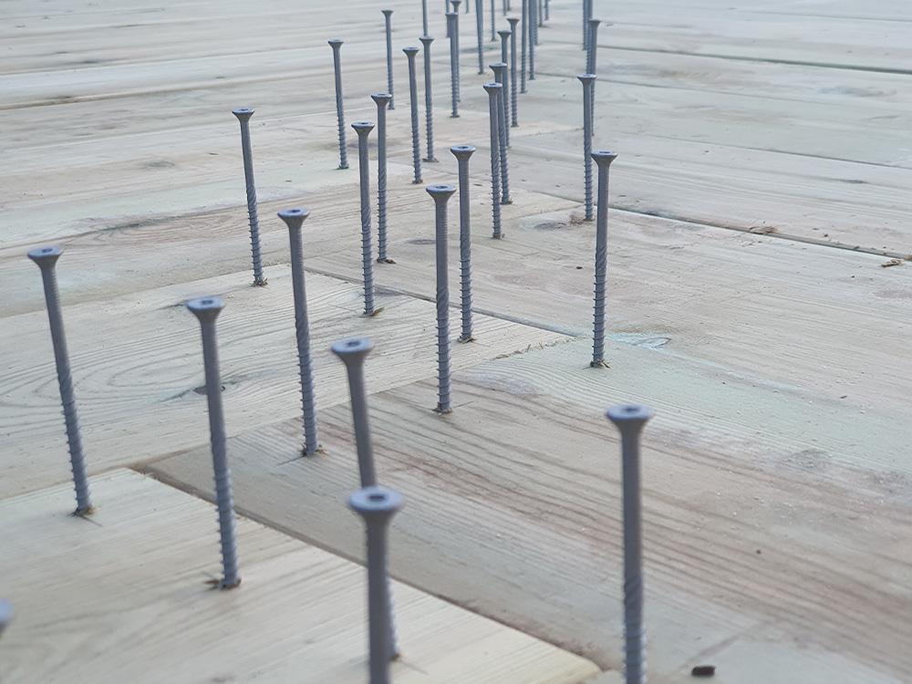 Bilde av terrasseskruer til terrasse i fiskebeinsmønster finalist nummer 2 årets uteromsprisen