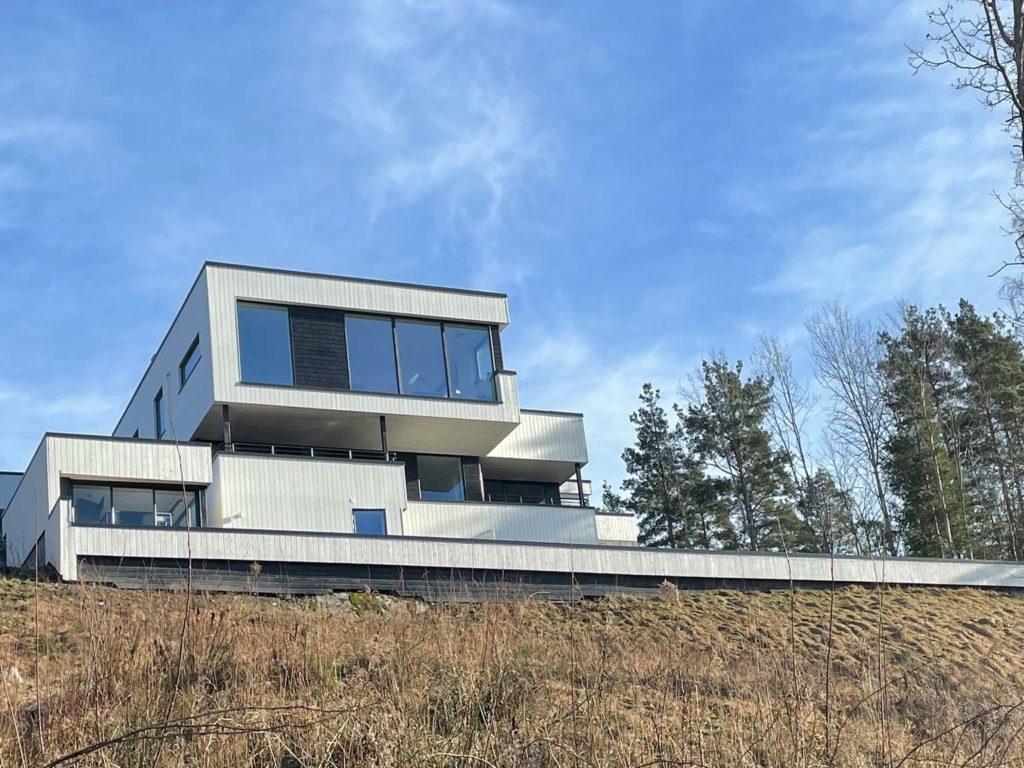 Bilde av boligen til finalist nummer 7 i eksteriørprisen 2021.