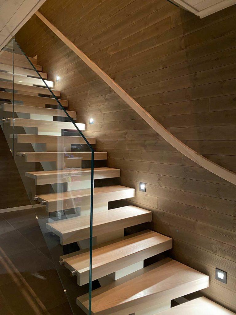Bilde av trapp - interiørprisfinalist nummer 1 2021.